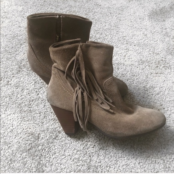 Bakers Shoes - Taupe Booties